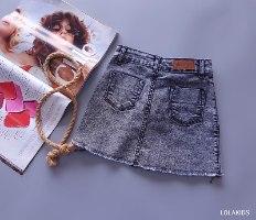 חצאית אבזם דגם 8407