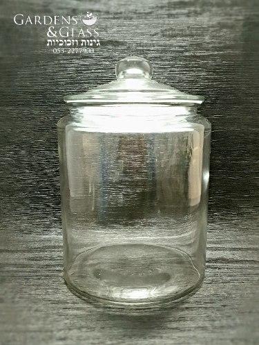 צנצנת ואקום זכוכית 5 ליטר