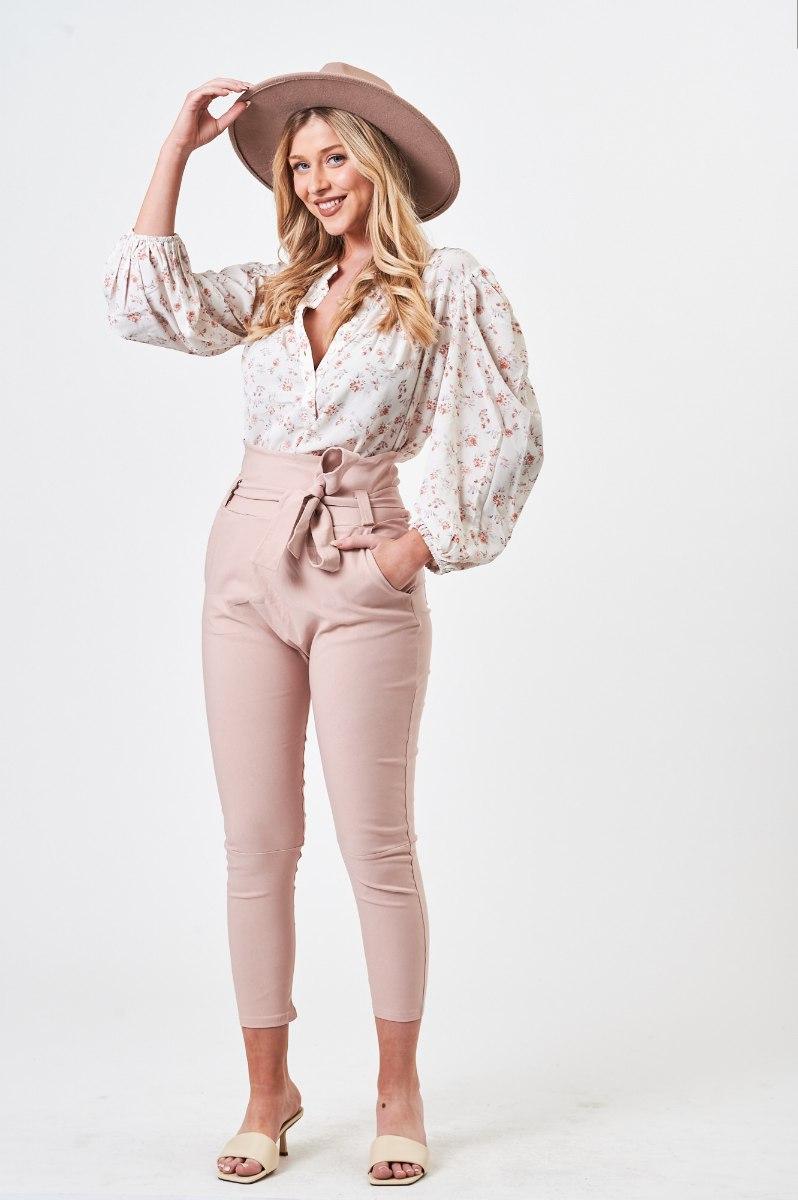 חולצת לילוש פרחוני/סגול