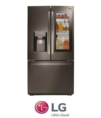LG מקרר 3 דלתות דגם GRX265INS