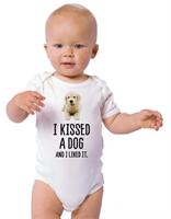 חדש! בגד לתינוק I KISSED A DOG