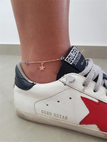 צמיד רגל כוכב מלא
