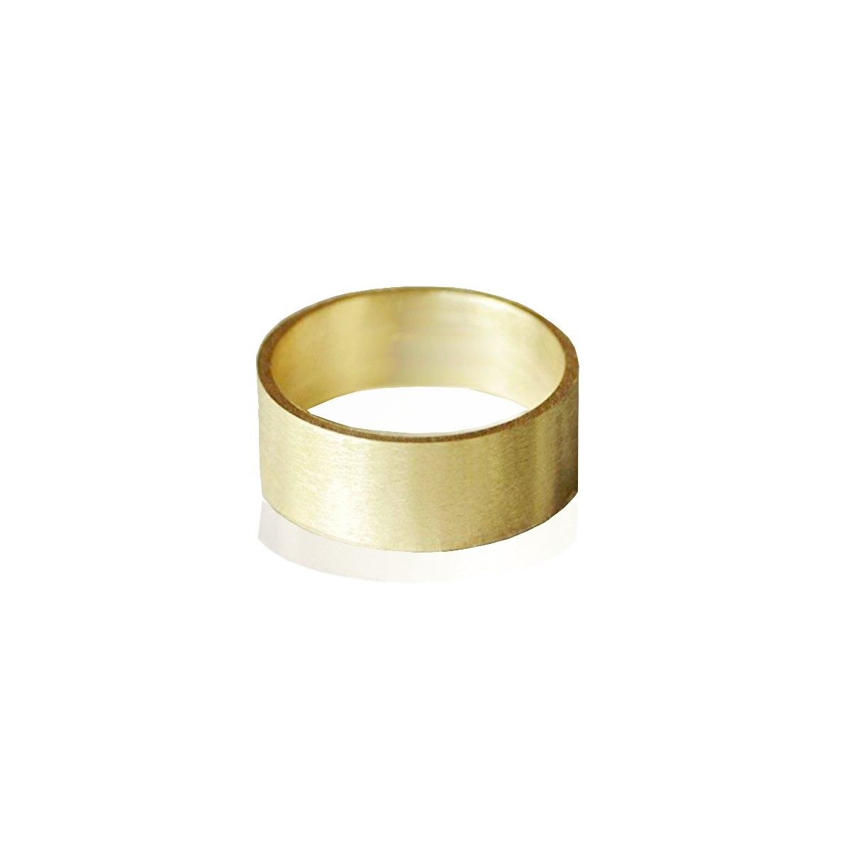 טבעת נישואין רחבה 8ממ ישרה