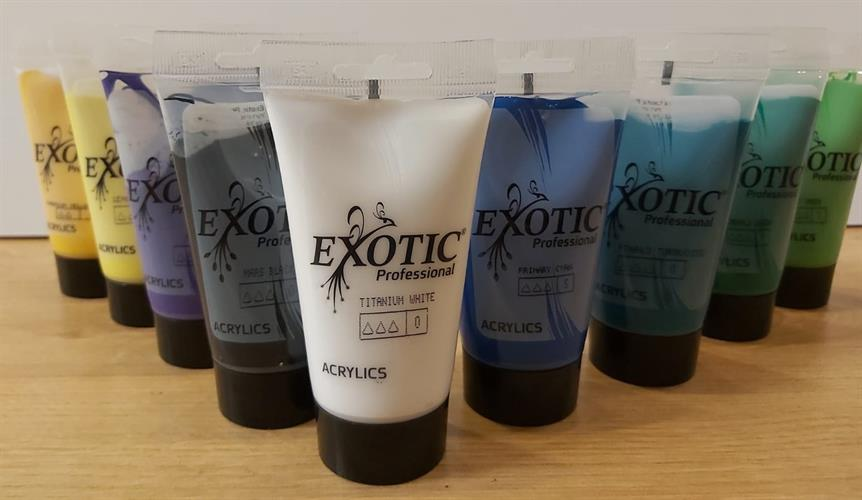 צבעי אקריליק EXOTIC