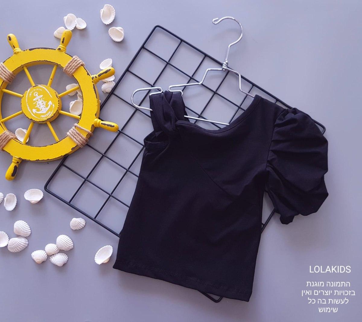 חולצת לייקרה מעוצבת דגם 9626