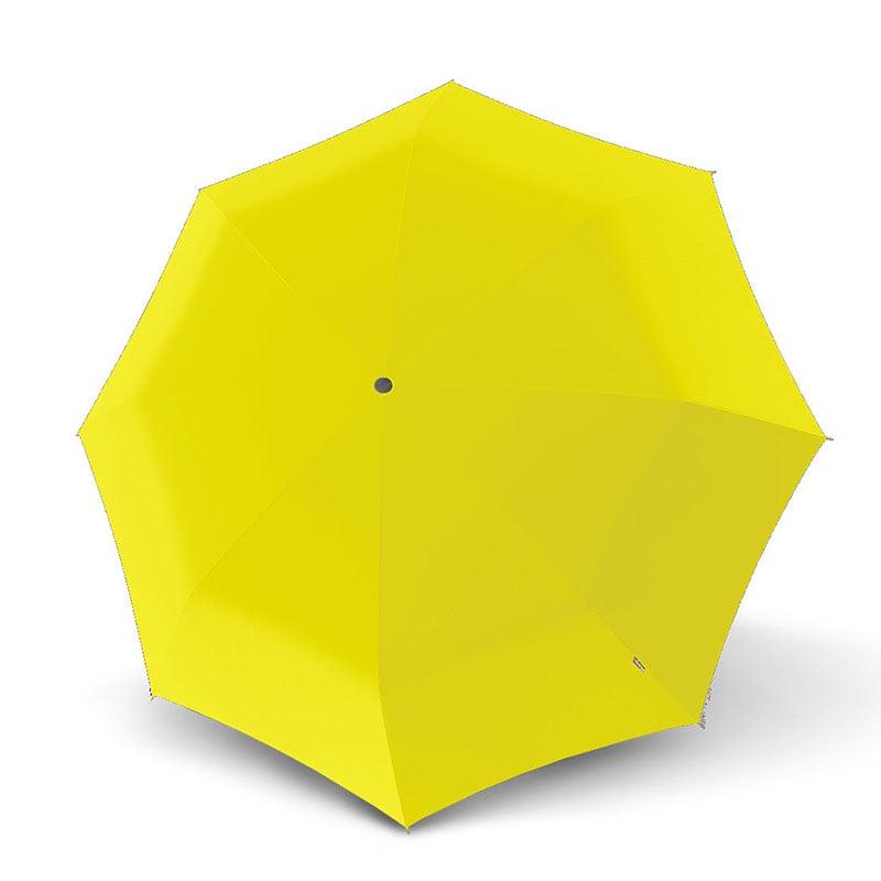 מטריה איכותית של המותג הגרמני המוביל בעולם KNIRPS- צהוב