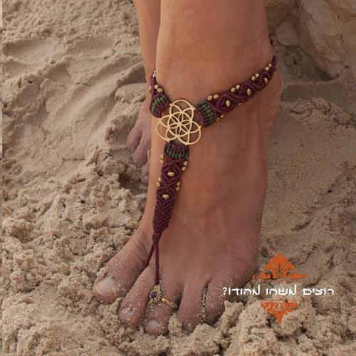barefoot מקרמה זרע החיים בורדו
