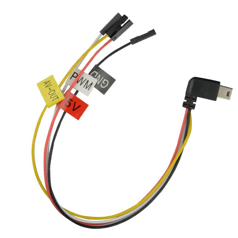 כבל מיני USB ל AV למצלמות SJCAM SJ7, SJ6