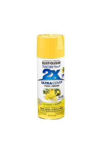 ספריי צבע 2X - צהוב חמנייה משי