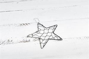 כוכב רשת ברזל - כסוף מושחר