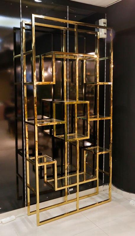 מדפי נירוסטה  מגיע בצבע: זהב/ ניקל  מידות: 225X108X29