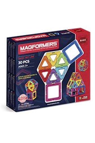 צורות מגנטיות - מגפורמרס - 30 מגנטים