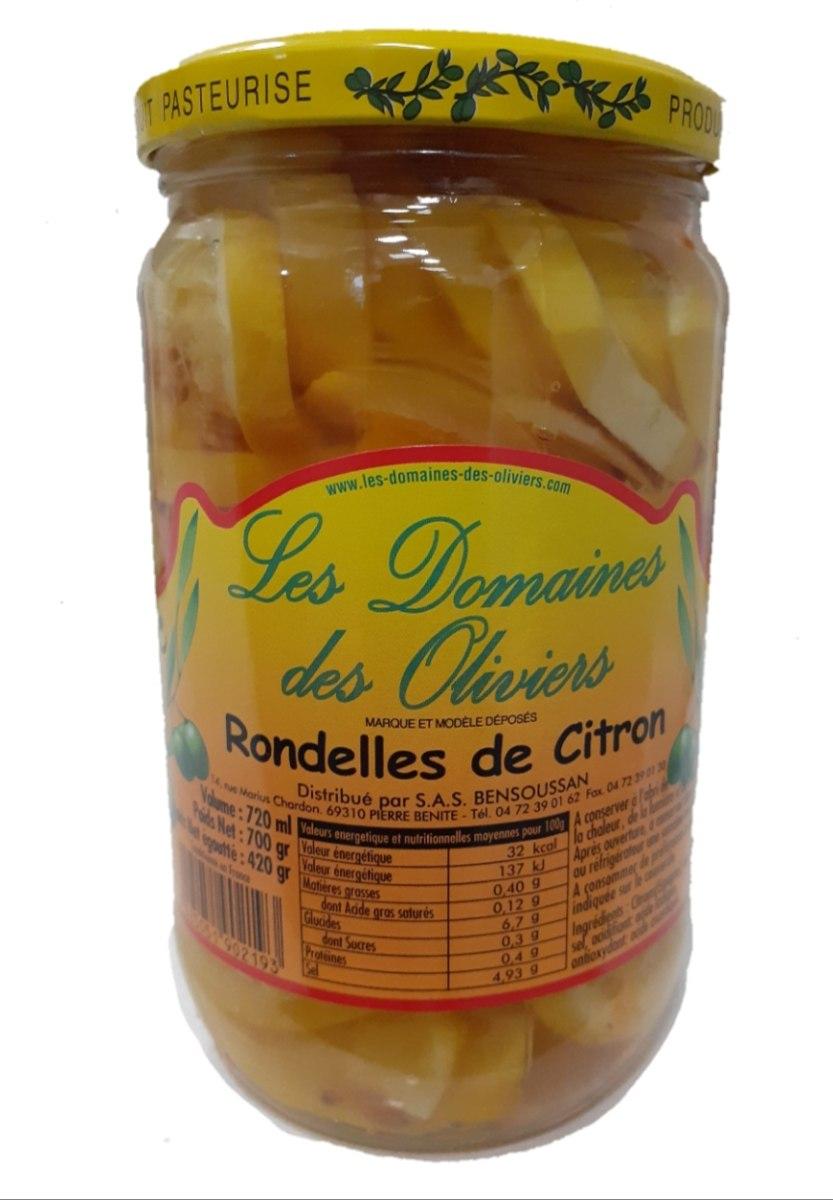 פרוסות לימון