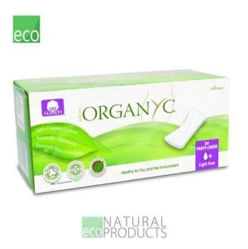 מגן תחתון אורגניק מכותנה אורגנית ללא כימיקלים מזיקים אריזת תפזורת 24 יחידות