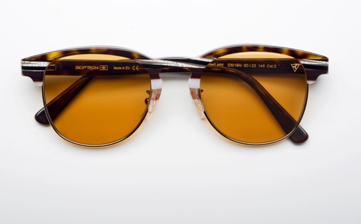 משקפי היפרלייט (נגד קרינה) דגם THE-0501BN צבע חום