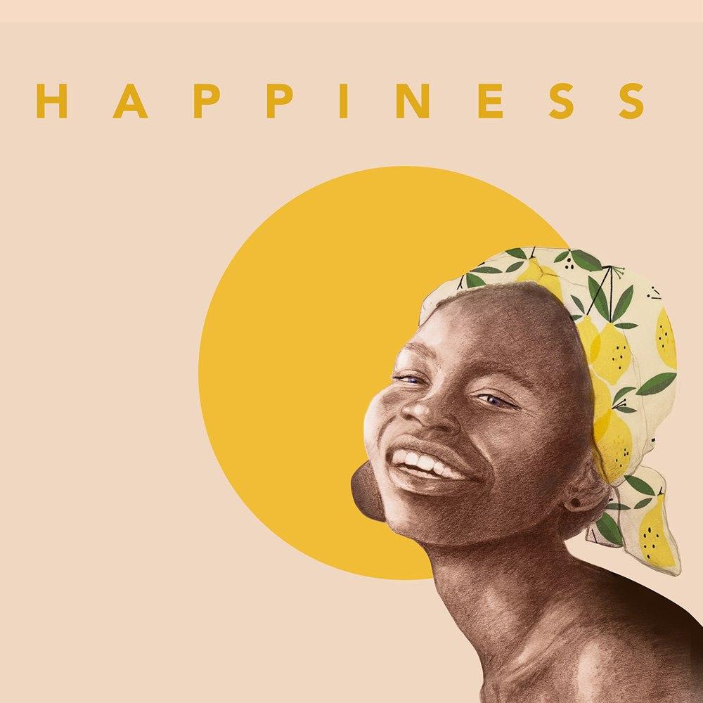 HAPPINESS-הדפס ציור