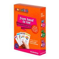 משחק רביעיות באנגלית gamelish | מכף רגל עד ראש  from head to toe