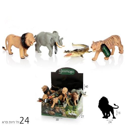 חיות Animogo פרא 12 אינצ'