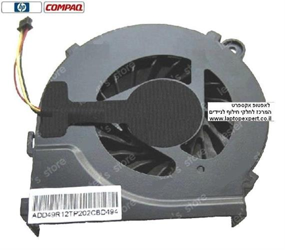 מאוורר למחשב נייד HP Compaq G62 G42 CQ42 CQ62 CPU Laptop Fan 606609-001 646578-001 KSB06105HA