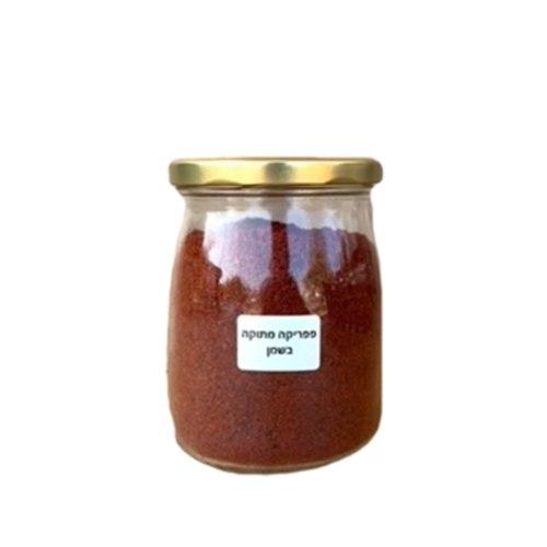 צנצנת פפריקה מתוקה בשמן 200 גרם