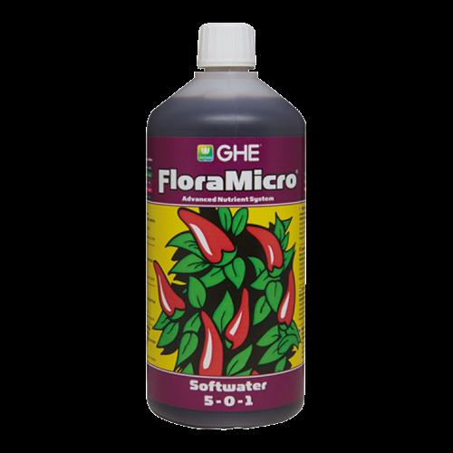 פלורה מיקרו מים רכים 1 ליטר Flora Micro Soft Water