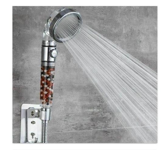 ראש מקלחת מעוצב בעל 3 מצבי לחץ