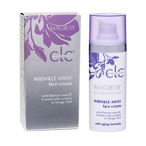 "Magiray CLC Wrinkle Away Face Cream -  מאג""יריי קרם הזנה מחדש לעור בוגר"