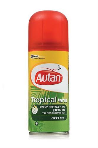 Autan Tropical   -אוטן טרופי דוחה יתושים