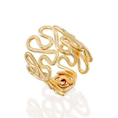 טבעת שלכת צהובה