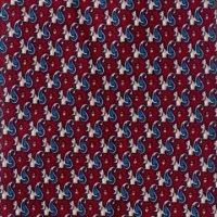 עניבה בהדפס סנאי - בורדו