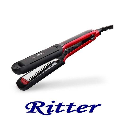מחליק שיער טיטניום מראה וטורמלין XSZ-10n פלטות רחבות | שמירת חום עד 230 מעלות