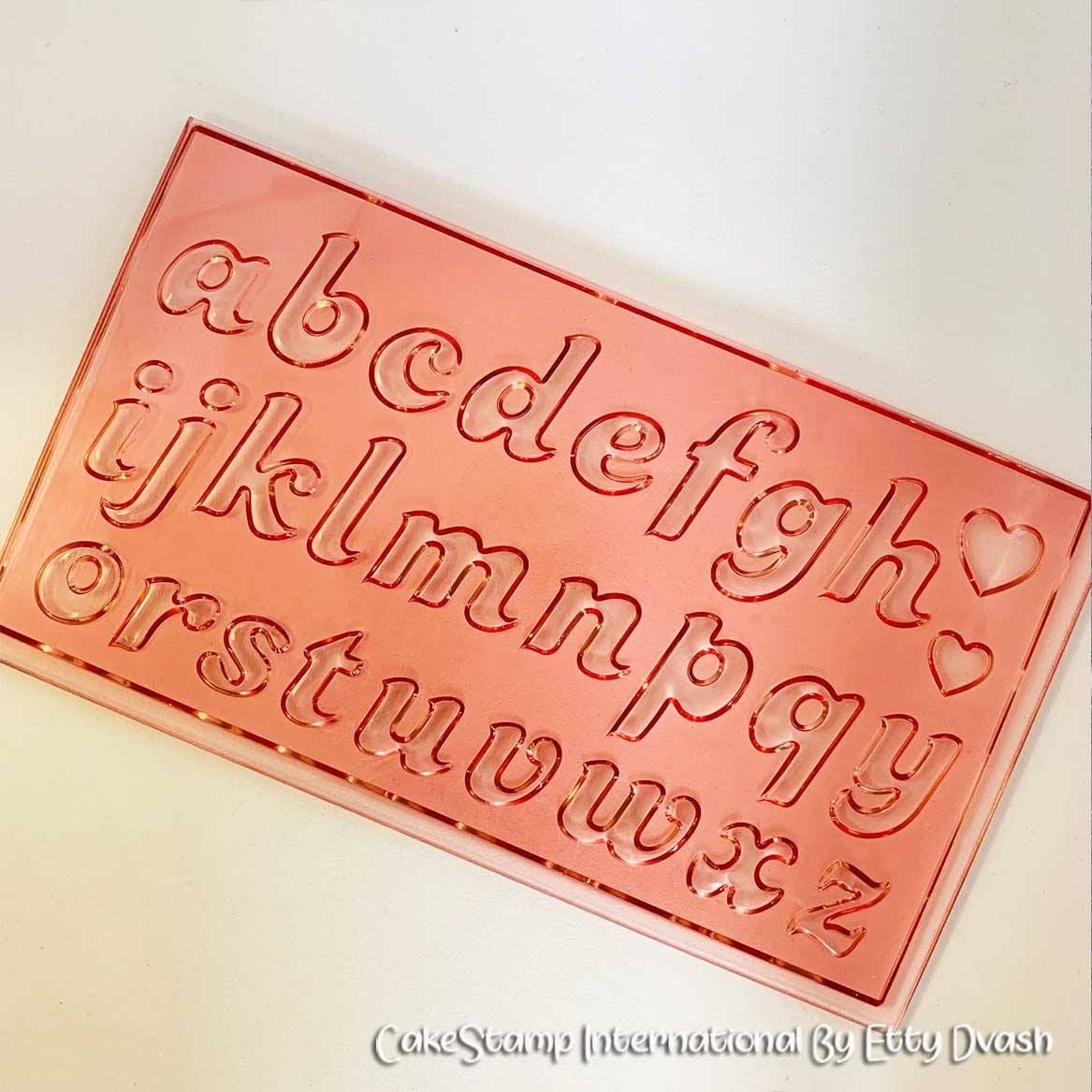 Candy- Letters Set 2 cm high