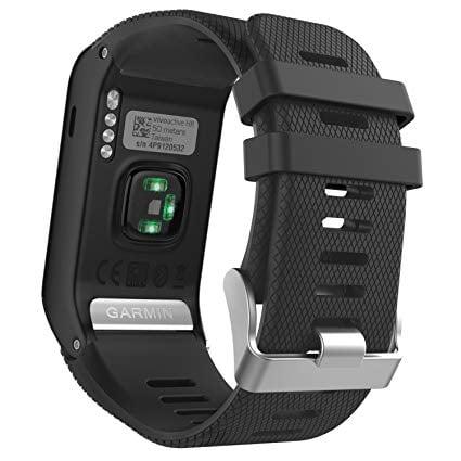 רצועה שחורה חלופית לשעון Garmin Vivoactive HR