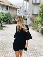 סאמר דרס שחורה