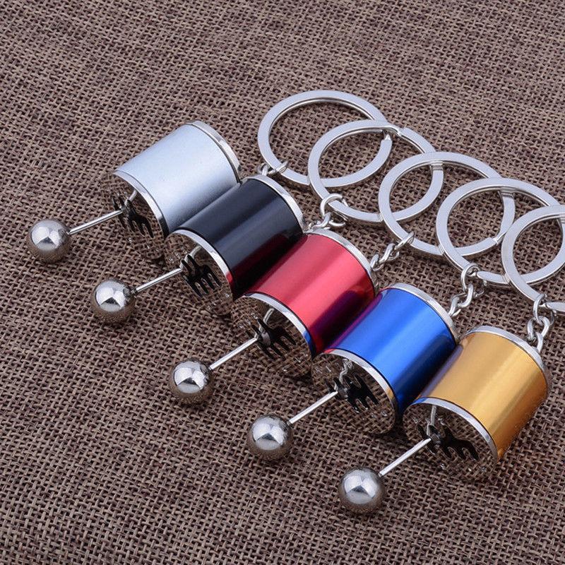 מחזיק מפתחות בצורת תיבת הילוכים