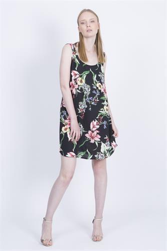 שמלת ספרינג שחורה