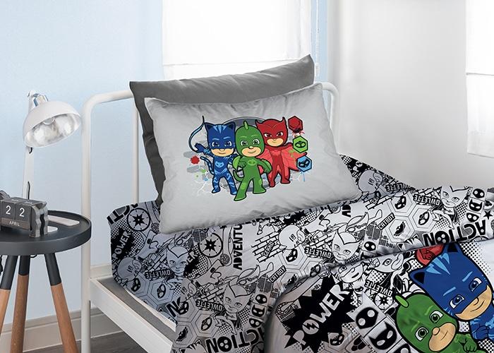 סט מלא מיטה וחצי דגם אפור