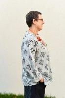 חולצות מדגם איה בצבע תכלת עם הדפס