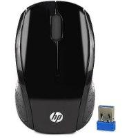 עכבר אלחוטי שחור HP 200