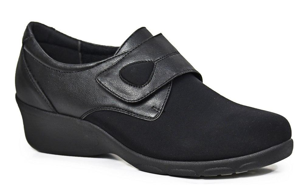 נעל סגורה משולבת לייקרה לנשים דגם - 8020-52G