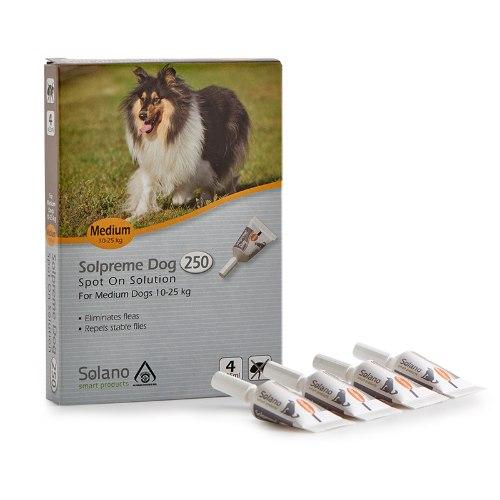 """סולאנו סולפרם לכלב מ 10-25 ק""""ג"""