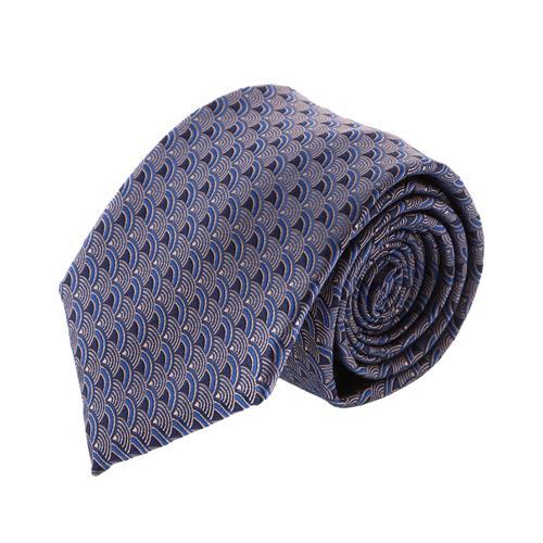 עניבה קלאסית קשתות כחול