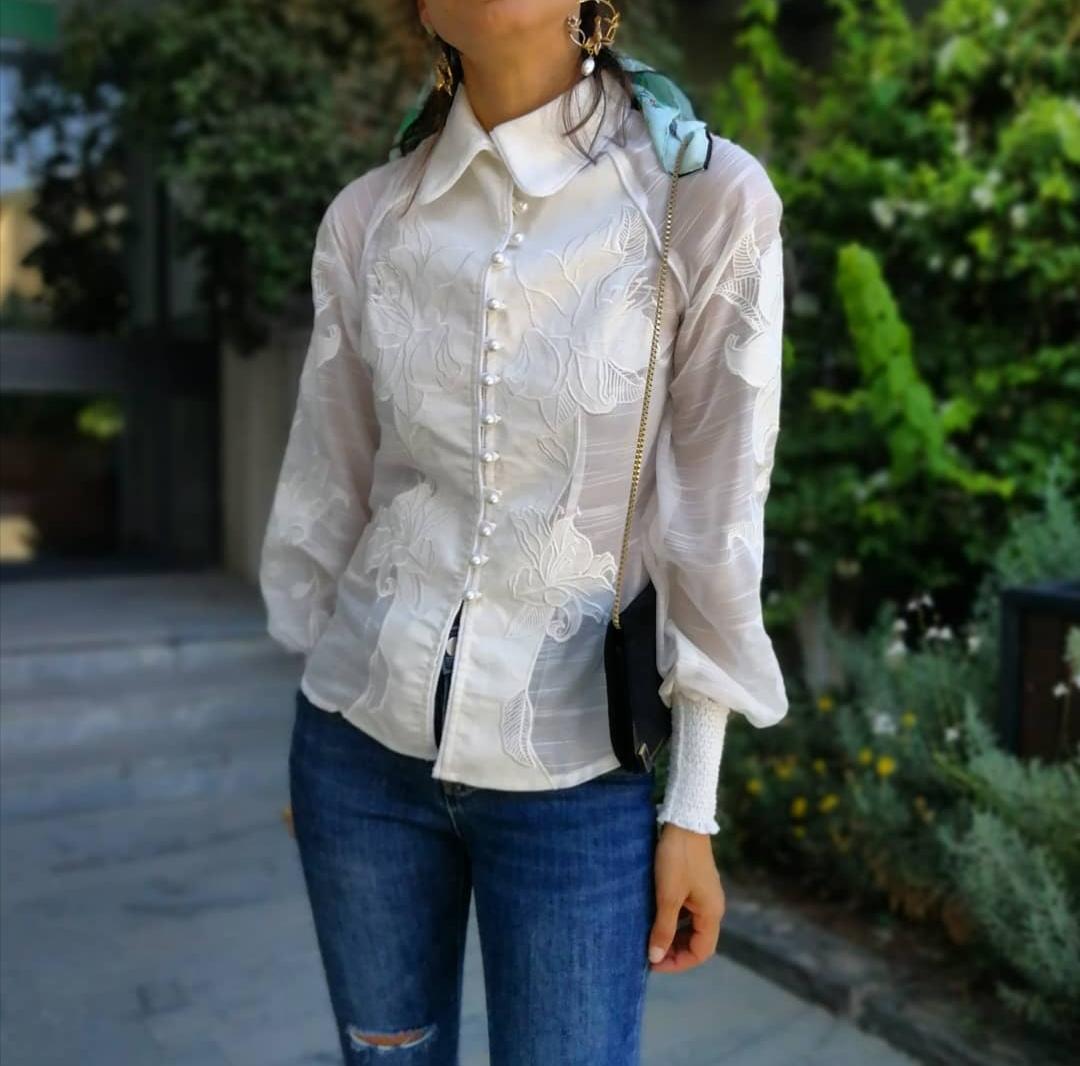 חולצת ליליה פריזאית