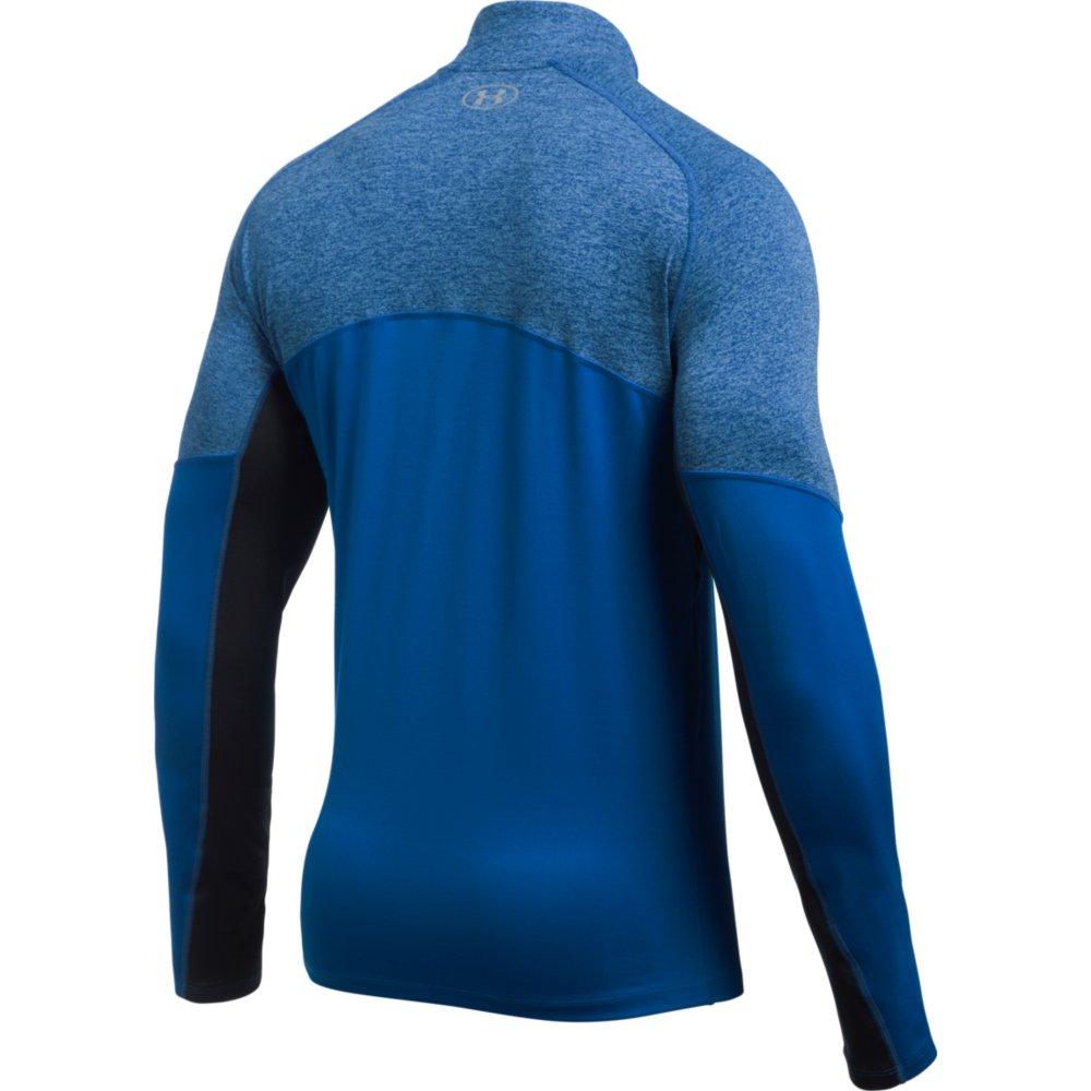 חולצה אנדר ארמור לגבר עם רוחסן 1298836-984 Under Armour men's threadborne run 1/4 zip shirt