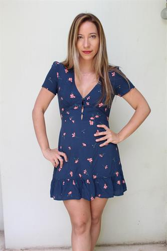 שמלת מנדי פרחים