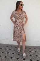 שמלת שילה קרם ציור