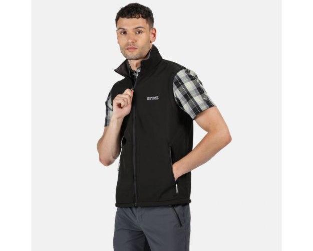 Regatta Bradwell Mens softshell vest שחור