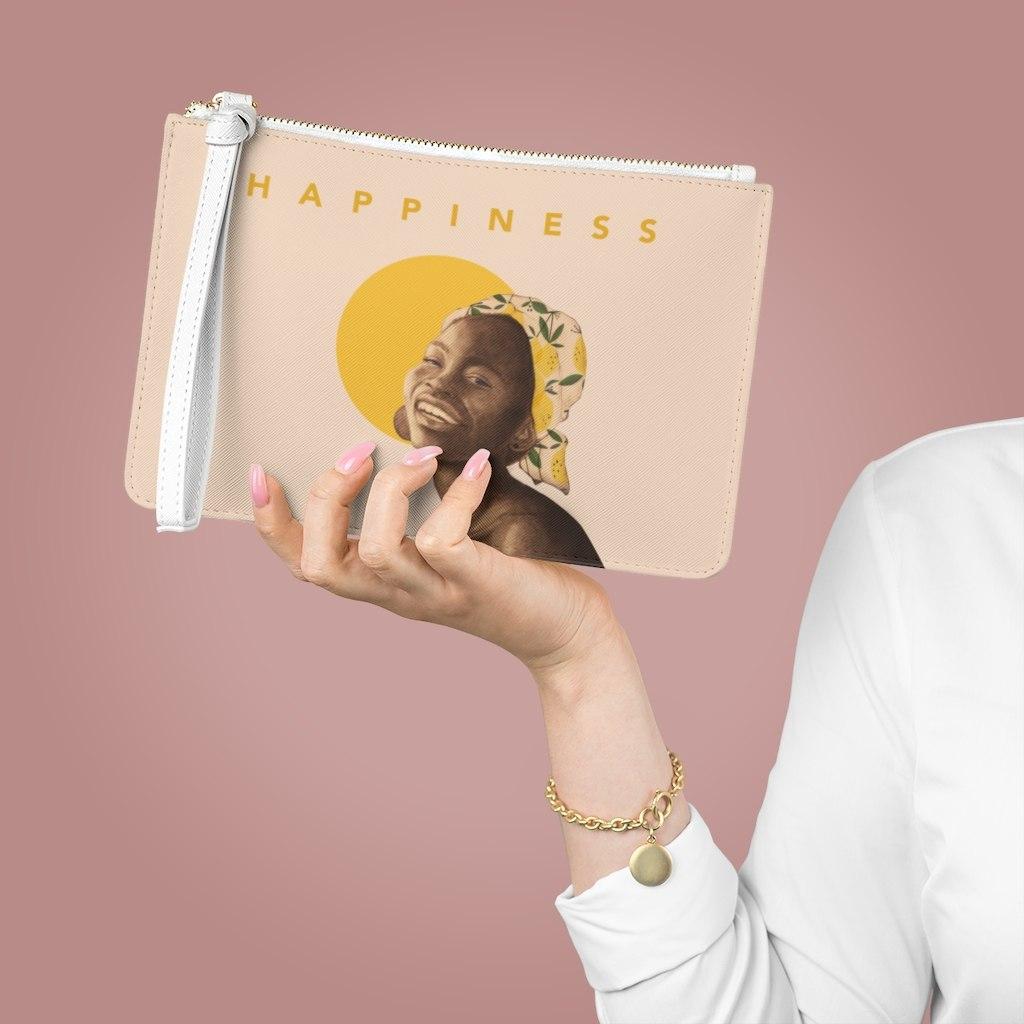ארנק עם רוכסן- happiness