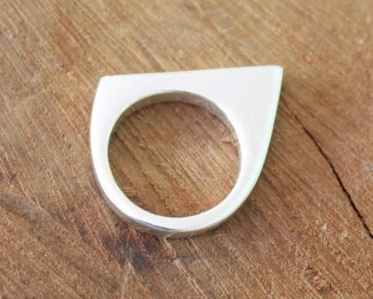 טבעת שפיץ חלקה