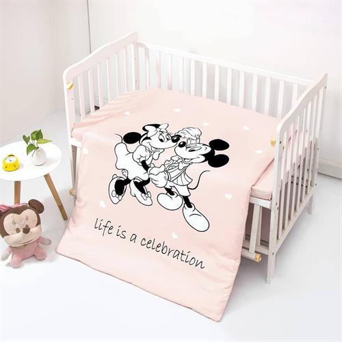 סט מלא למיטת תינוק מיקי